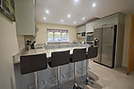 open plan self catering kitchen diner