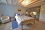 king-size double bedroom at this self catering accommodation